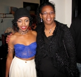 Keyshia Cole's Show @ the Fox w/ opening act: Keely Ferguson (backstage photos)